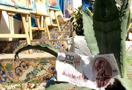Ukron, il conio dall'anno 2504 Sidi Bou Said - Tunisia