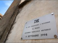 Targa 15, Anno 2998 - Civitella D'Agliano (VT)  FU QUI DISCHIUSO L'ACCESSO AL PRIMO UNIVERSO PARALLELO ABITABILE 4 SETTEMBRE 2998