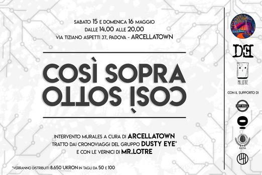 104 - Così Sopra, Così Sotto, Padova Arc