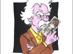 Ukron, il conio dall'anno 2504 in mano a Mark Twain, grazie a Valerio Lundini