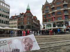 Ukron, il conio dall'anno 2504 Copenaghen - Danimarca
