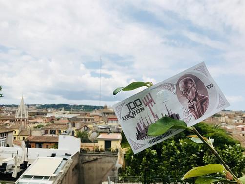 Ukron, il conio dall'anno 2504 Roma - Italia