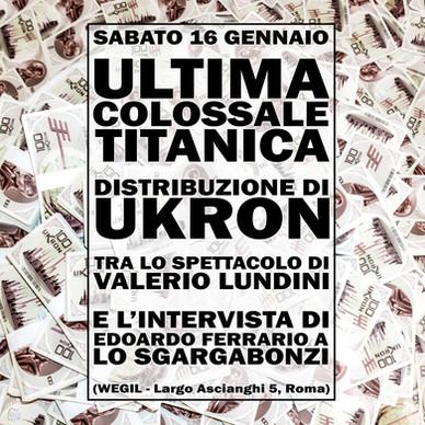 91 - Ultima Distribuzione Ukron, Lundini