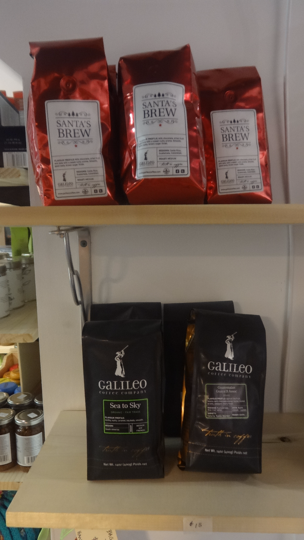 Galileo Coffee Blends