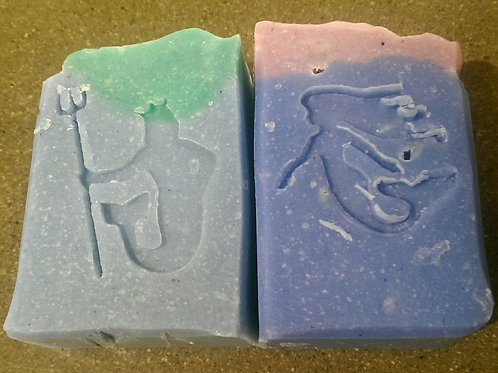 Mermaid & Merman Set of 50 gram Soap Bars