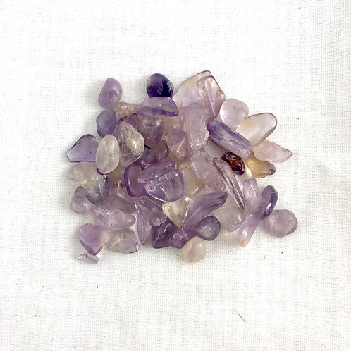 Amethyst Tiny Chips (10 pc price)