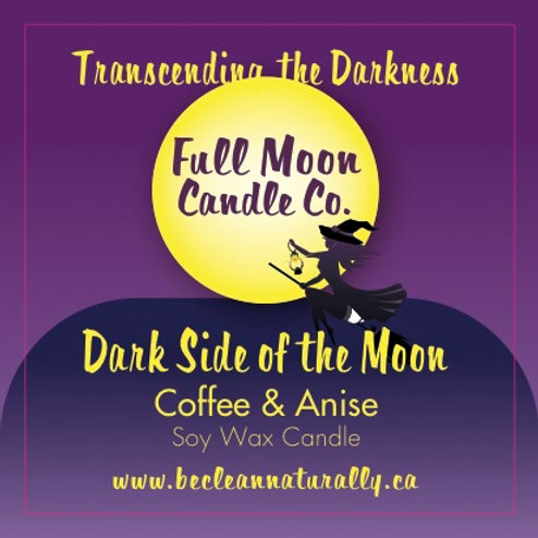Dark Side of the Moon Soy Candle Travel Tin