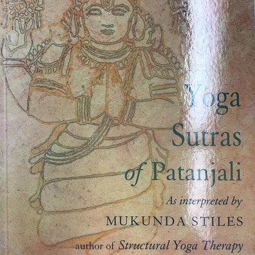 Yoga Sutras of Patanjali - Mukunda Stiles