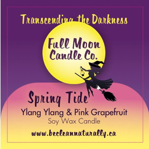 Spring Tide Soy Candle Travel Tin