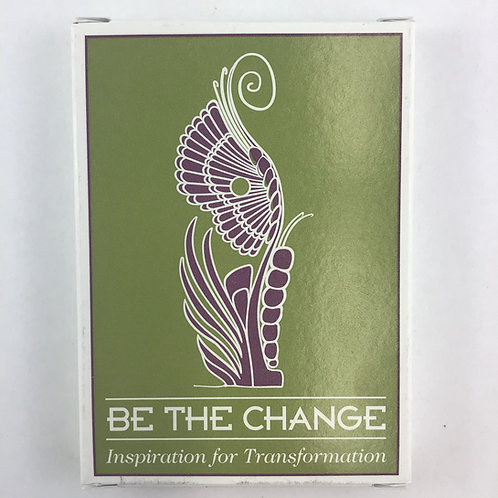 Be the Change Cards