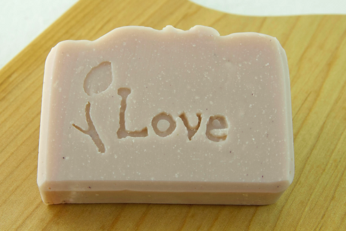 Pink Love Soap Bar ~ Ylang Ylang and Lime