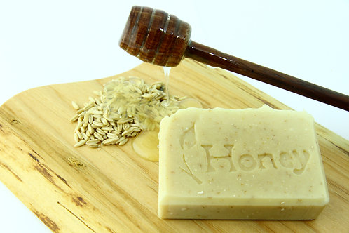 Honey Soap Bar ~ BC Honey & Organic Oats