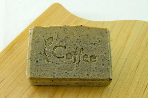 Coffee Soap Bar ~ Organic Espresso and Cinnamon