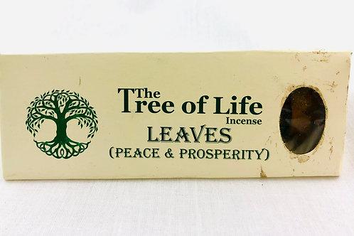 Leaves Tree of Life Incense Sticks