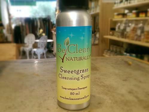 Cleansing Sweetgrass Spray 80ml