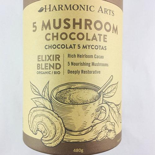 5 Mushroom Chocolate Elixir 480g