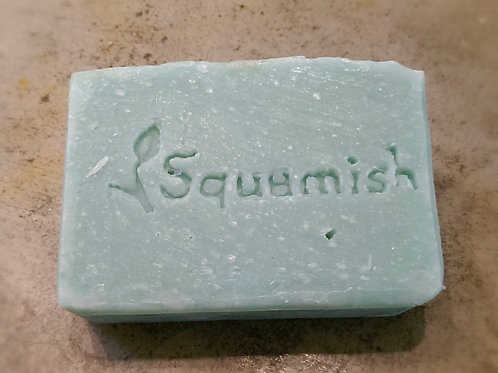 Squamish Soap Bar ~ Peppermint & Pine