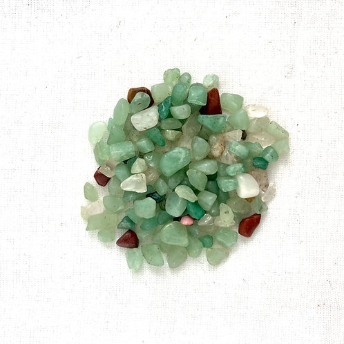 Green Aventurine Tiny Chips (50 pc price)