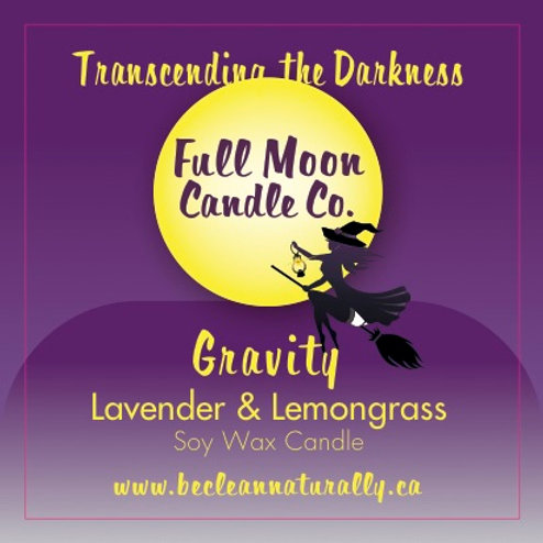 Gravity Soy Candle Travel Tin