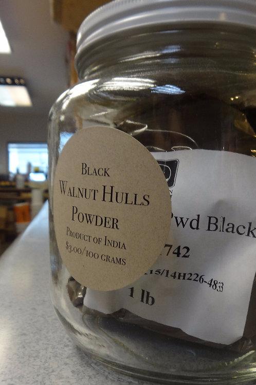 Black Powdered Walnut Hulls Powder