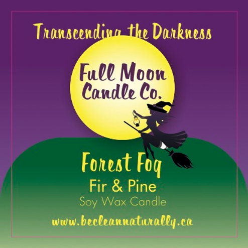 Forest Fog Soy Candle Travel Tin