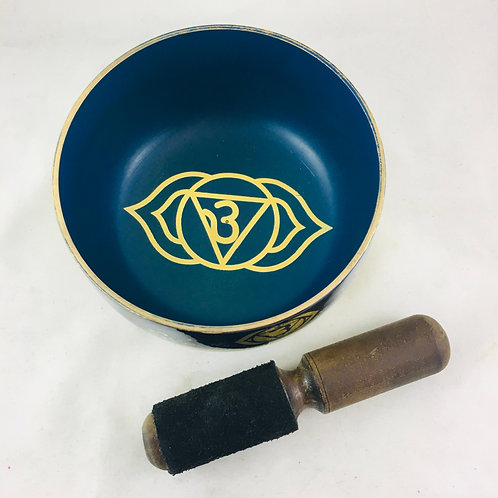 Singing Bowl Third Eye Chakra Indigo 5""