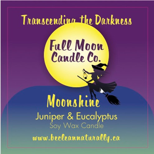 Moonshine Soy Candle Travel Tin