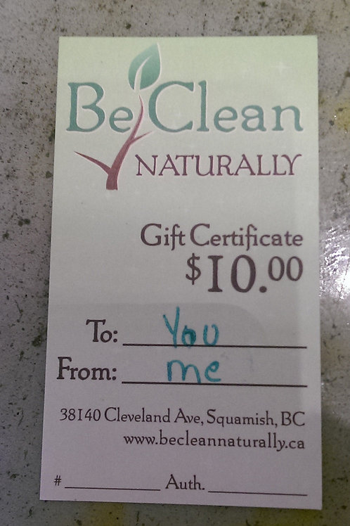 $10 Gift Certificate for The Soap Shoppe & Herbal Apothecary