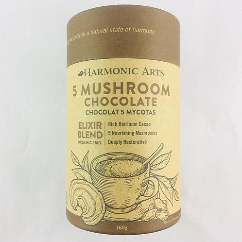 5 Mushroom Chocolate Elixir 160g