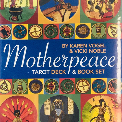 Motherpeace Tarot Deck & Book Set