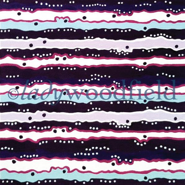 Coral / Stripe