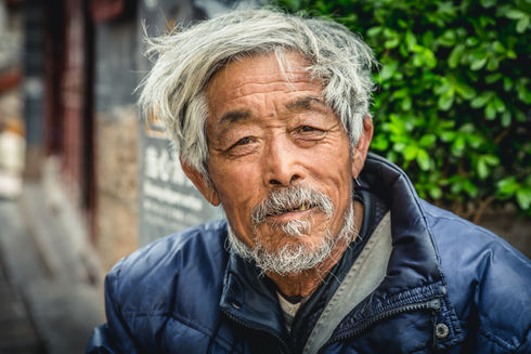 Local man from Lijiang, China