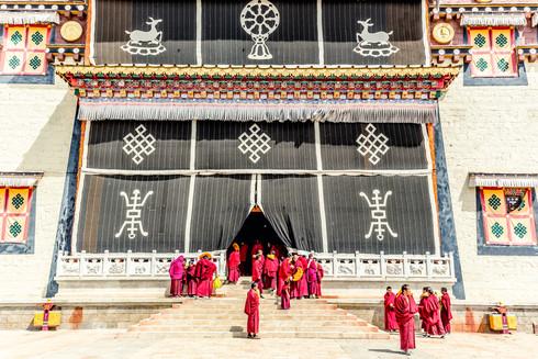 Shangri-La's Songzanlin Monastery, China
