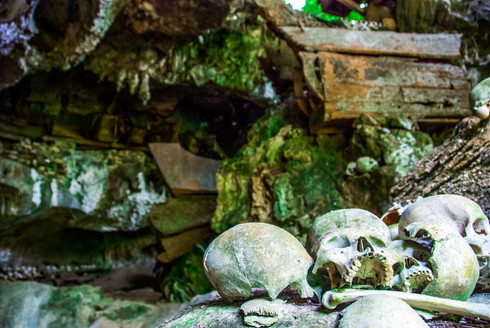 Burial caves of Sulawesi, Indonesia