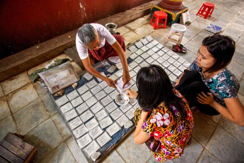 Fortune teller, Myanmar