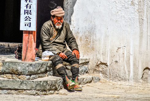 Pilgrim, Tibet