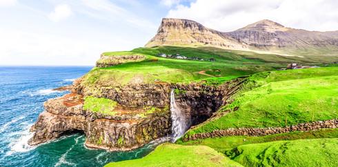 Múlafossur Waterfall, Faroe Islands