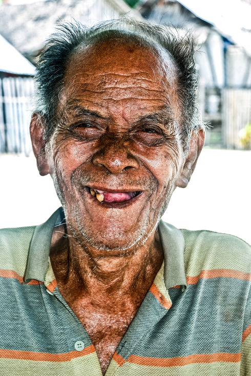 Local man from small island, Philippines