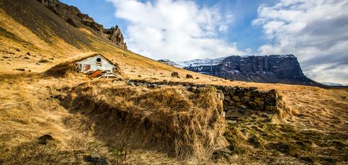 Old farm house, Iceland