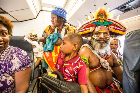Flying domestic, Papua New Guinea