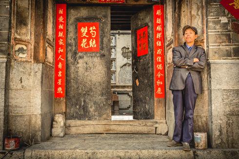 Village outside Dali in Yunnan, China