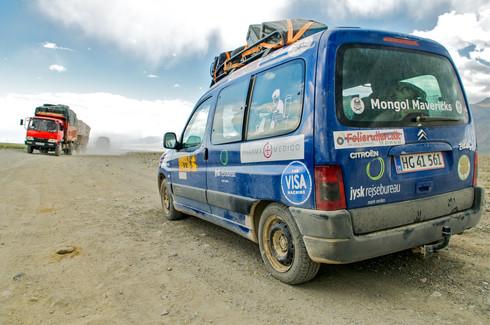 Mongol Rally, London to Ulan Bator