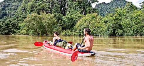 Kayak Expedition, Laos