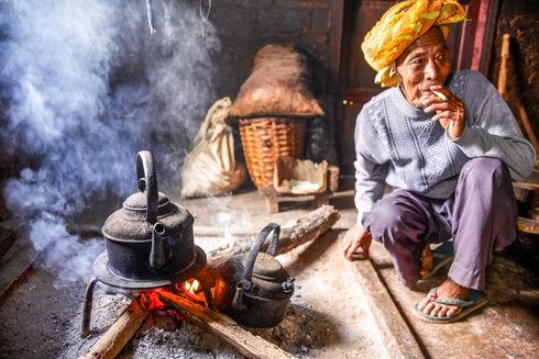 Village outside Kalaw, Myanmar