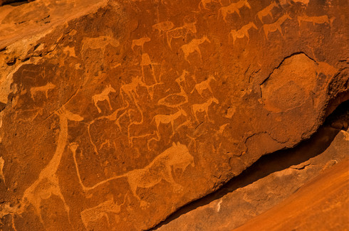 Twyfelfontein Rock Engravings, Namibia