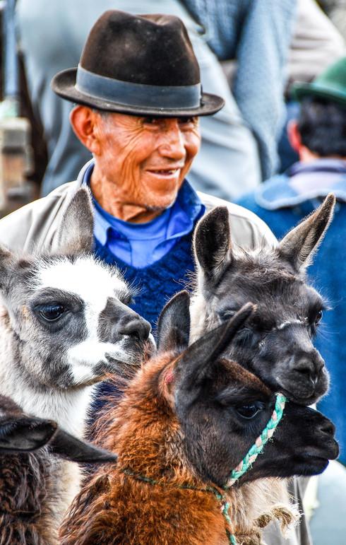 Market day, Ecuador