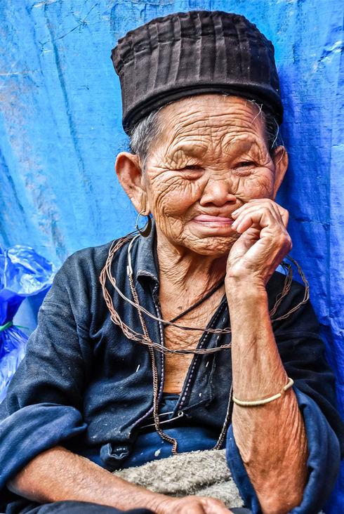 Black hmong in Sapa, Vietnam