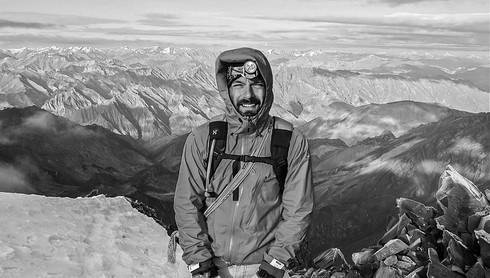 Climbing Stok Kangri at 6.153 meters, India