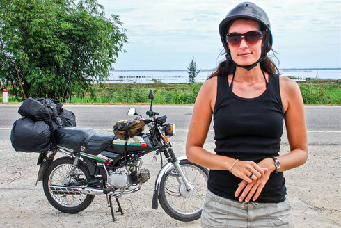 Motorbike adventure, Vietnam