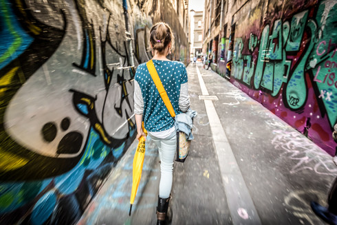 Streets of Melbourne, Australia